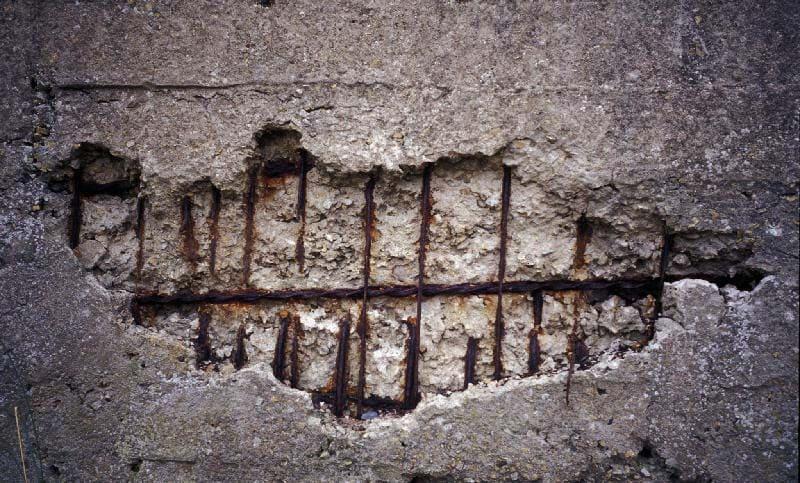 Химические повреждения бетона