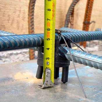 Защитный бетонный слой для арматуры